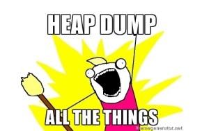 How to capture Heap dump