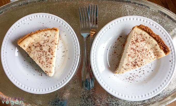 Vegan Irish Cream Cheesecake