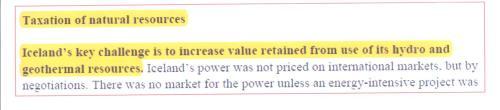 Renewable energy used to raise tax revenue