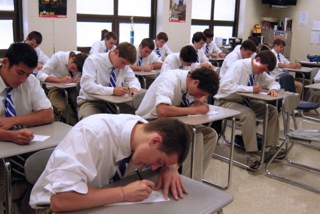 Single-gender classes — All Male Advantage - Covington Catholic High School