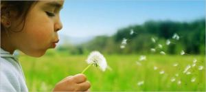 Girl blowing dandelion seeds, from 21 Reasons Why Gender Matters