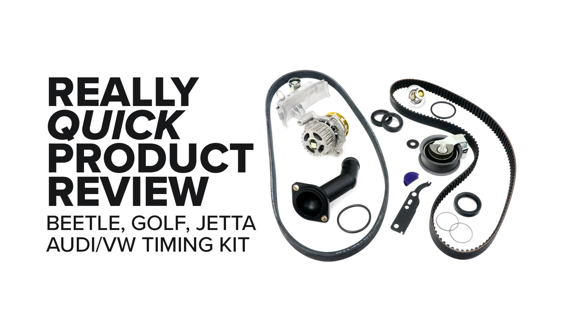 Volkswagen Jetta, Beetle, And Golf (1.8L L4) Timing Belt