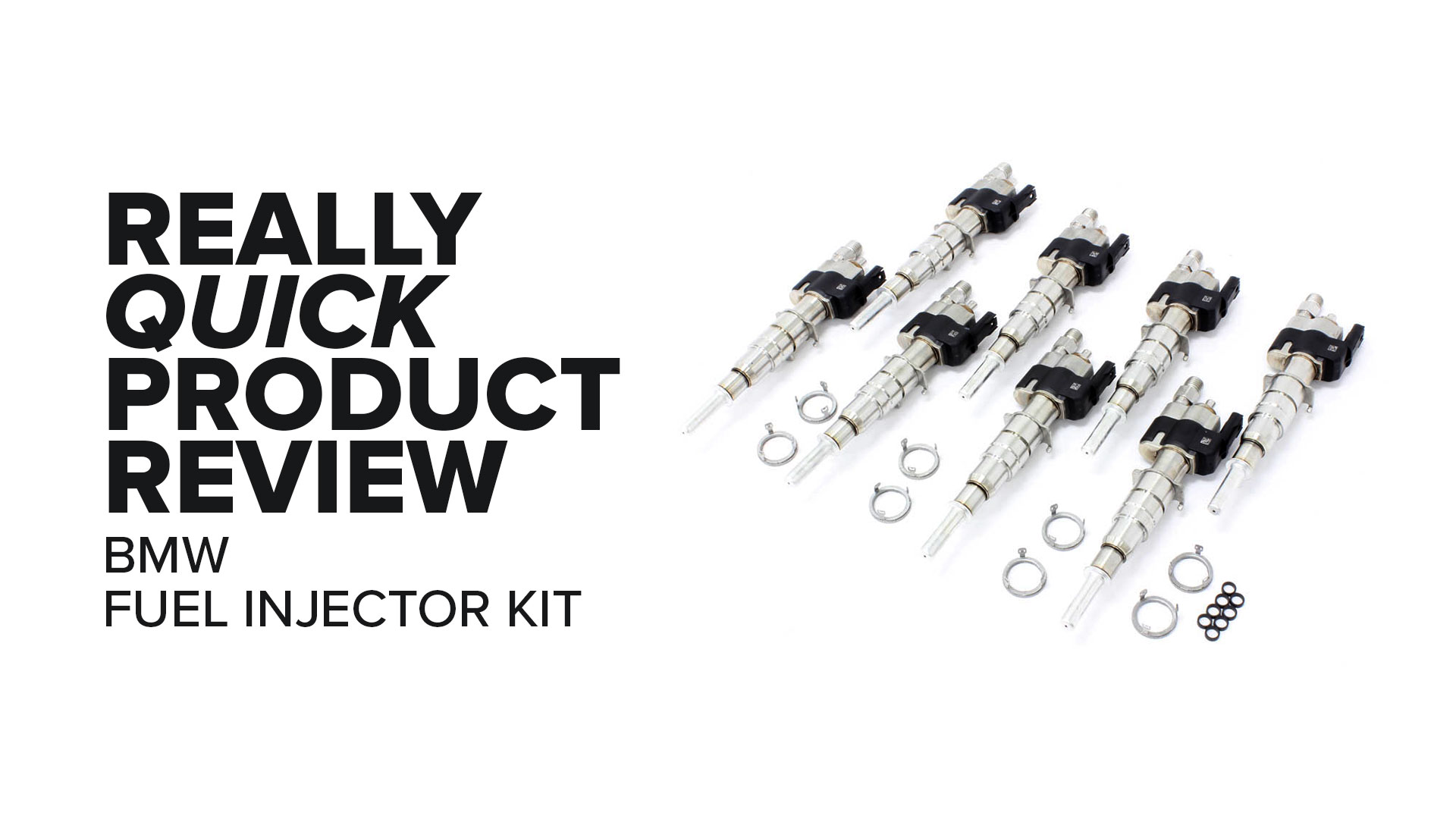 BMW X5, 550i, 650i, & More (N63 & S63) Fuel Injector Kit