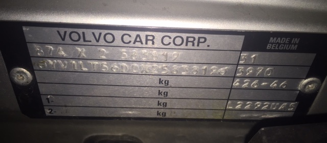 Volvo Engine Number Decoder Autos Weblog