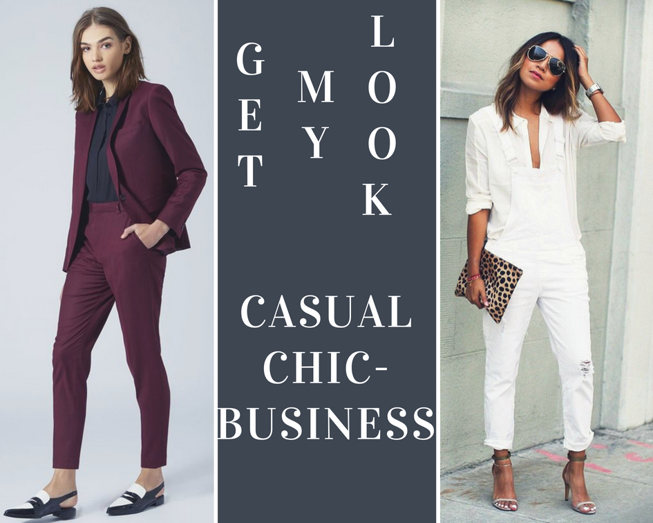 Look casual chic ou business