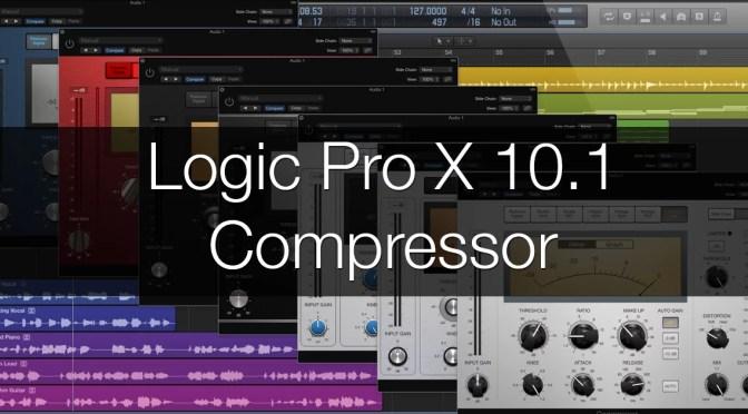 Logic Pro X 10.1 Compressor