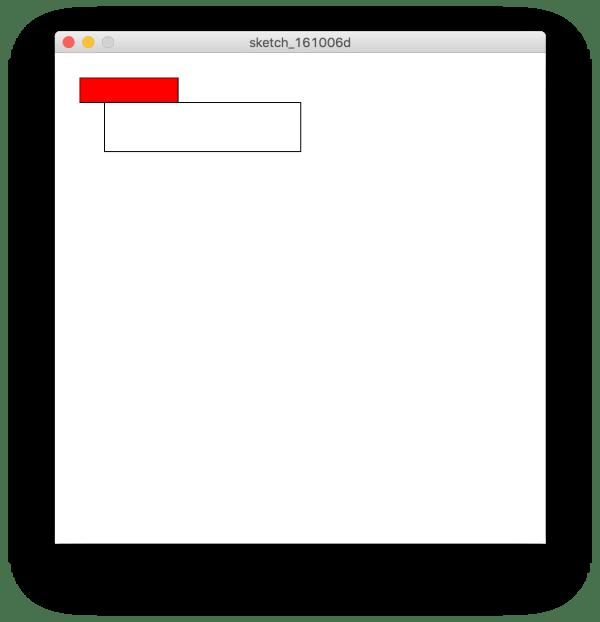 Utilizzo di scale() in Processing