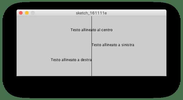 Processing: textAlign()