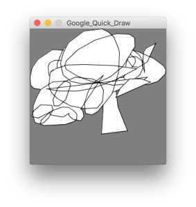 Quick, Draw: il dataset di Google in Processing