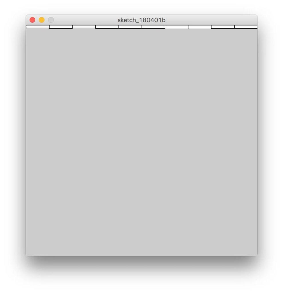 Grafico a barre in Processing