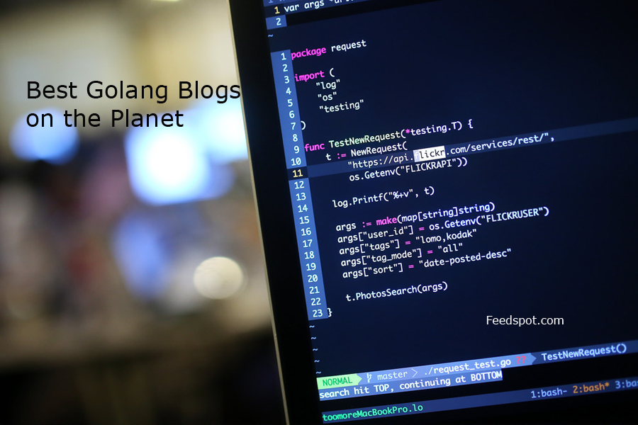 Top 20 Golang Blogs. Websites & Influencers in 2020