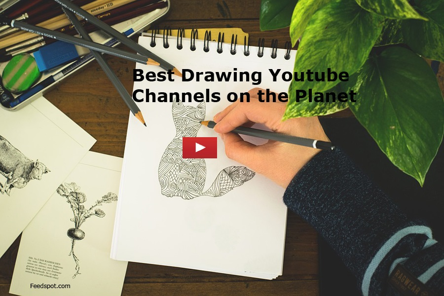 top 100 drawing youtube