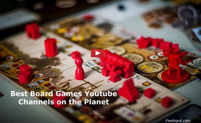 Top 30 Board Games Channels To Follow In 2019