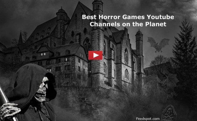 Top 30 Horror Games Channels Scary Games Vloggers