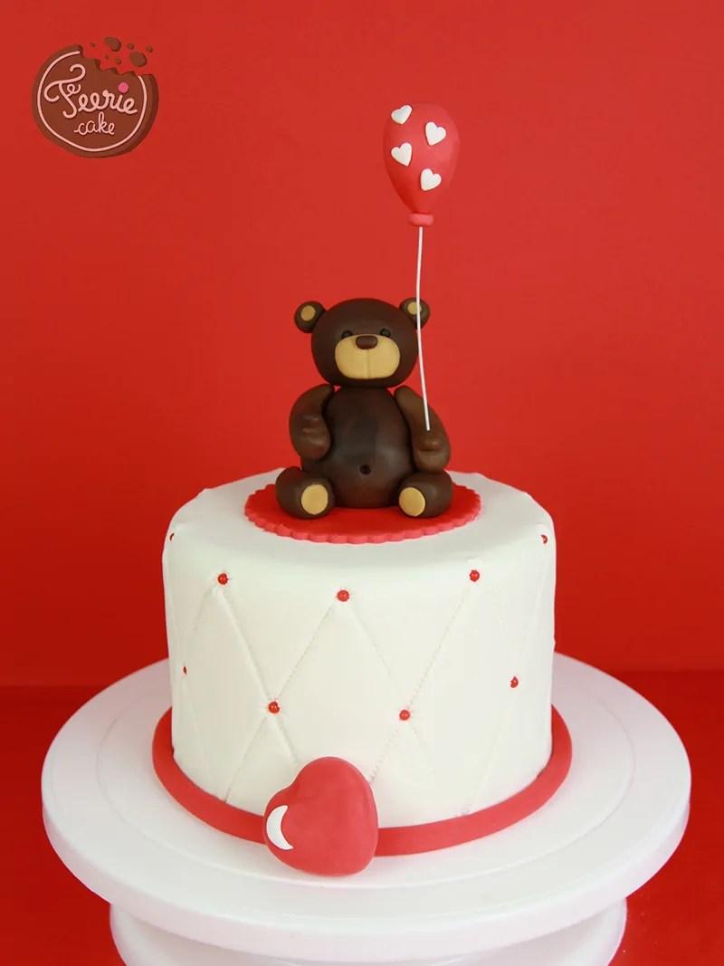 tuto ourson feerie cake
