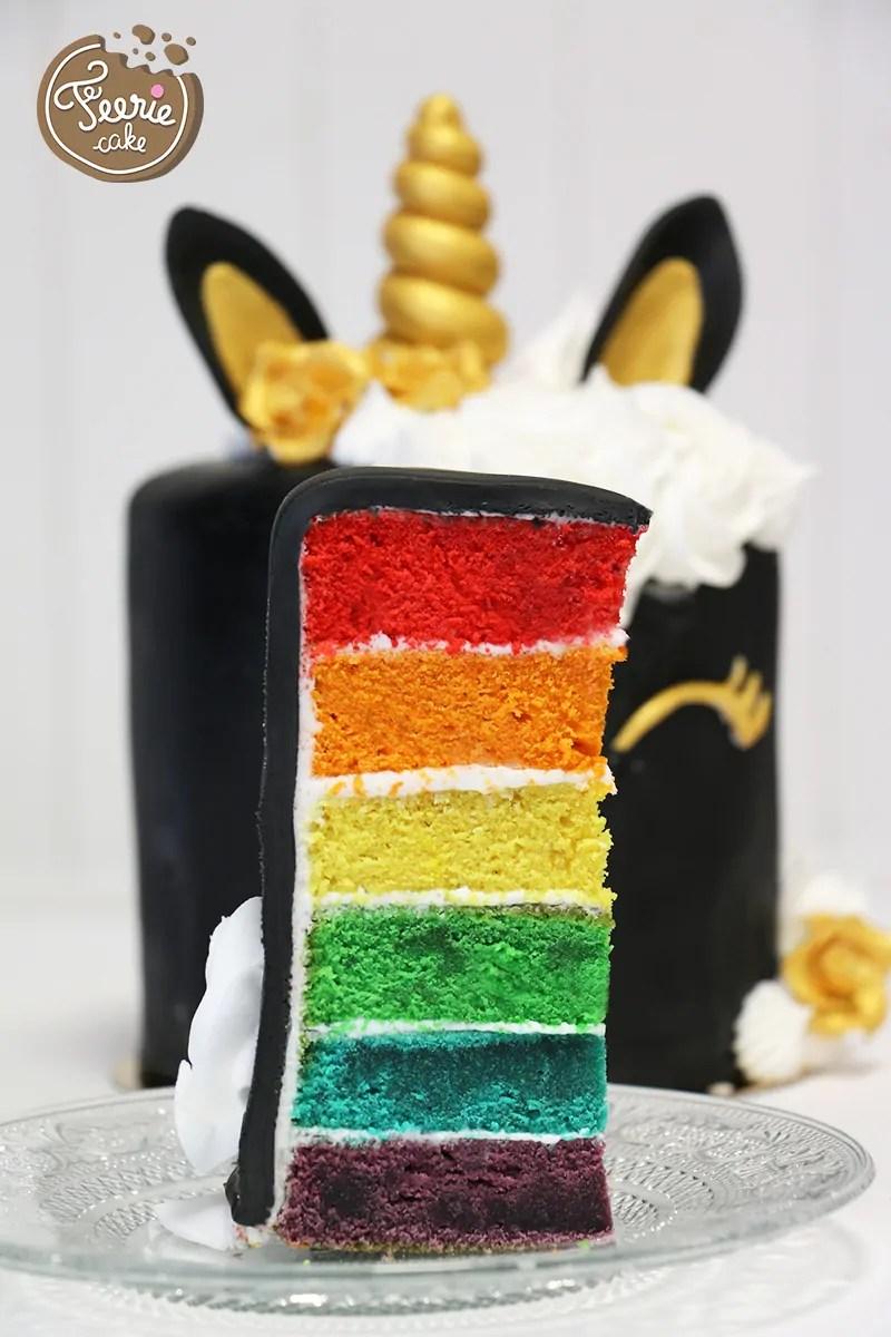 Die EinhornTorte  Ferie cake