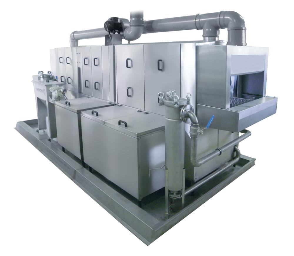 Machine de lavage industriel Laveuse (Largeur : 800 mm )