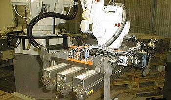 Palettiseur robotisé