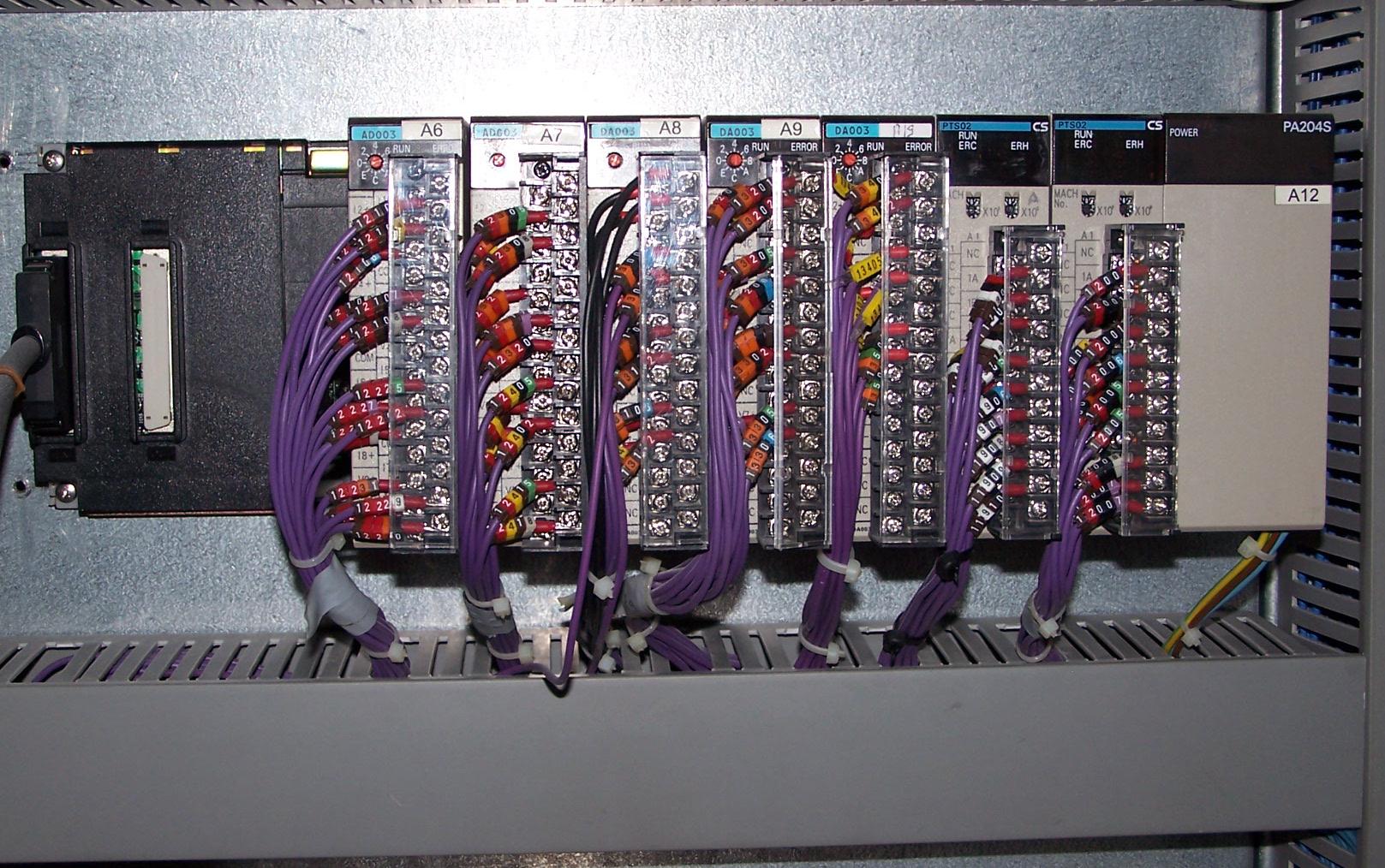 REALISATION D'ARMOIRE ELECTRIQUE