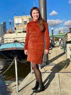 Das gemütlichste Winter-Chenille-Kleid