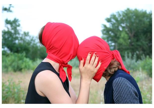 Larisa Crunţeanu und Sonja Hornung, Untitled, 2015, Fotografie, Fotografin: Amaryah Paul, mit freundlicher Genehmigung von Larisa Crunţeanu und Sonja Hornung
