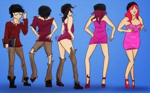 crossdresser, crossdressing, transgender, Travesti