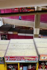 Dreistöckiger Markt in La Paz