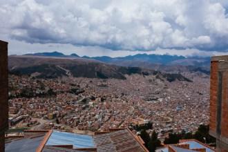 Ausblick über La Paz
