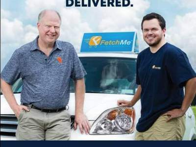 fetchmedelivery ad for auburn university