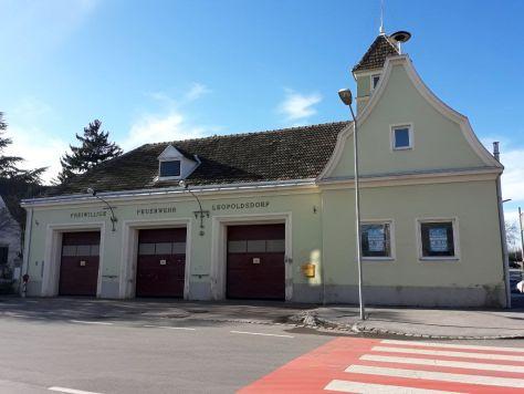 Altes Feuerwehrhaus der Freiwilligen Feuerwehr Leopoldsdorf