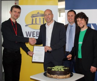 1&1 Internet AG receives German Document Freedom Award