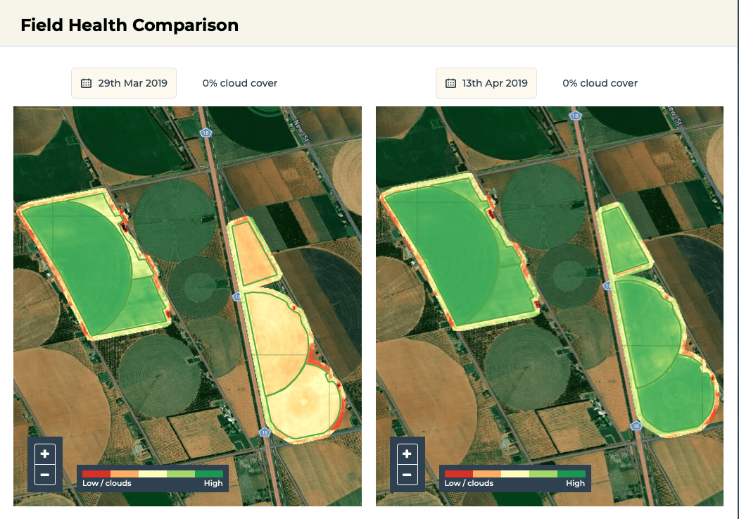 Using satellite imagery to reduce water use and improve crop performance in drought-stricken Arizona