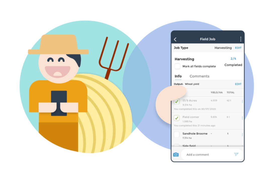 Introducing Field Job sub-tasks: check off your fields as you complete them