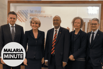 Malaria Minute | Malaria World Congress | Monday 2nd July
