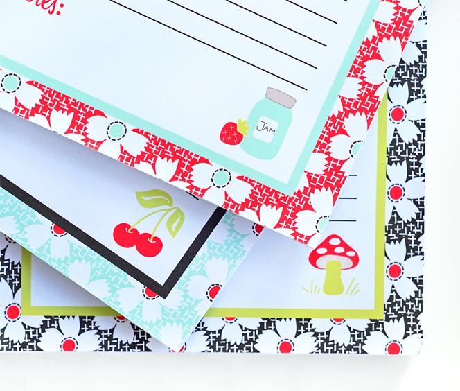 Notepad corners small