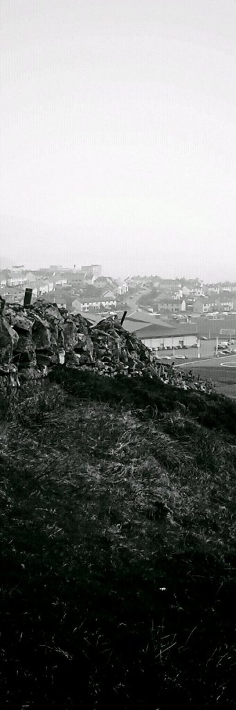 Lerwick from the Hill