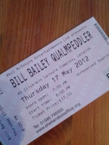 Bill Bailey Tickets!