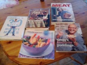 Favourite 5 Cookbooks
