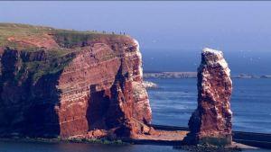 Helgoland, Lange Anna, Steilküste