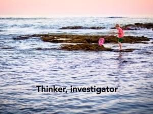 thinker, investigator