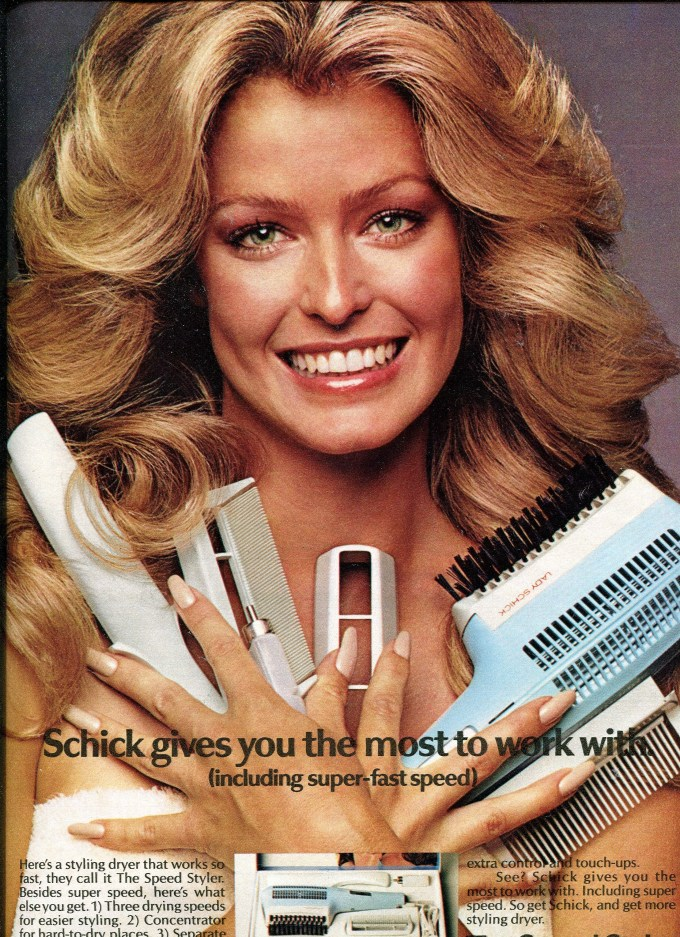 musings from marilyn » farrah fawcett's hair was iconic