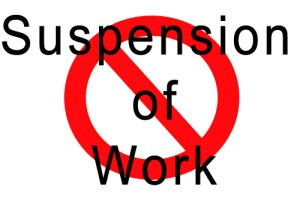 suspension-of-work
