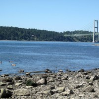 Titlow Beach on the 4th of July