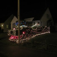 The Holiday Dragon on 56th Street