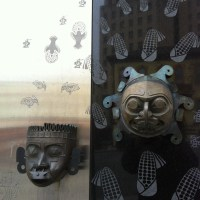 Xipe Totec and Sun Mask-Kwakiutl by Granum, Doug