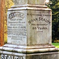 Chief Sealth's (Seattle) Grave