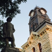 Statue of General Hiram Bronson Granberry (Granbury)