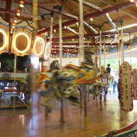 The Vintage Carousel at the Washington State Fair