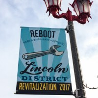 The signs of the Lincoln District, Tacoma