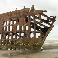 The Wreck of the Peter Iredale, Fort Stevens State Park